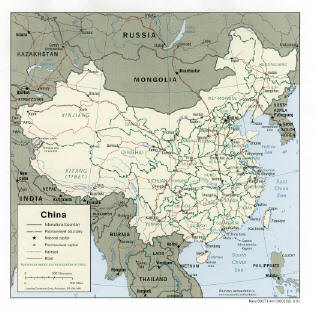 export china map